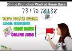 * Limited seats OPP for data entry jobs / work at your home town