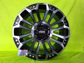 Velg HSR Myth05 R18 Sport buat pajero, fortuner, Triton ( Bisa dicicil