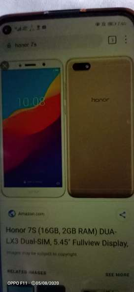 Honor 7s imie change 10/10 condition complete