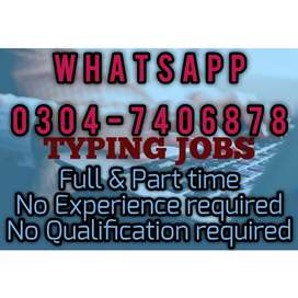 Best typing job on daily basis for everyone. 7656