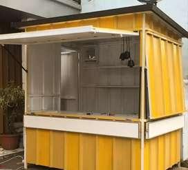 Booth container / customize sesuai ukuran dan budget
