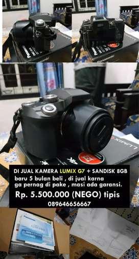 Di jual kamera lumix g7