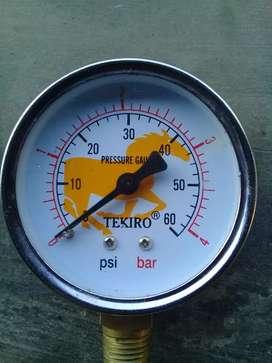 Pressure gaung 60 bar tekiro