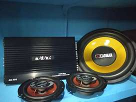 Paket audio hemat terima beres terpasang di mobil