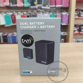 GoPro Dual Battery Charger with Battery for HERO 8 Black Original