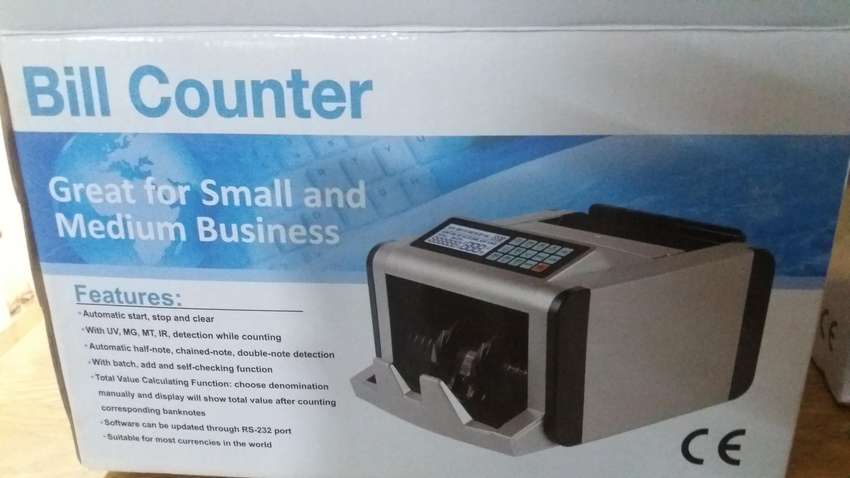 currency cash note counting machine with 100% fake note detection 0