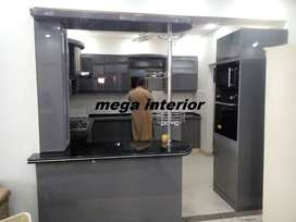 Acrylic kitchen,pvc,polyester,high,gloss,bedroom,set,home,interior,lcd