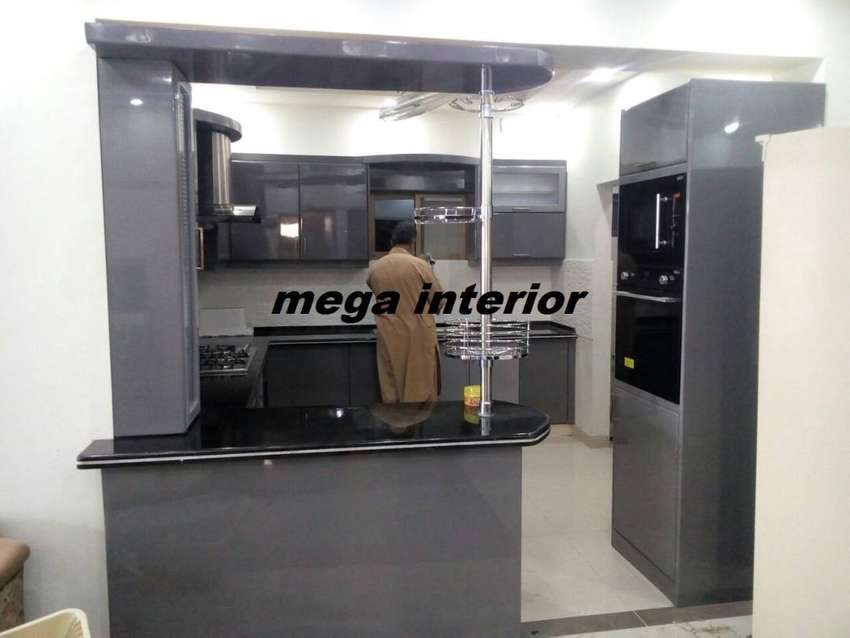 Acrylic kitchen,pvc,polyester,high,gloss,bedroom,set,home,interior,lcd 0