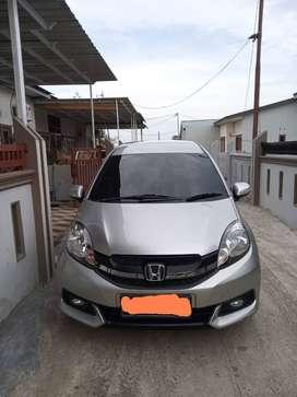 Honda Mobilio E Cvt Matic Silver 2014
