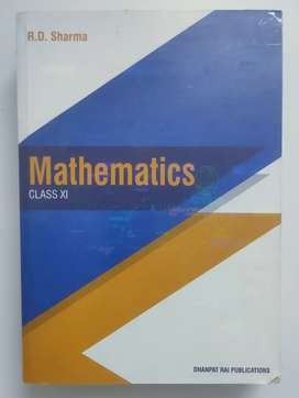 RD Sharma Maths textbook for class 11