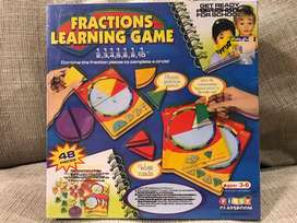 Fractions Learning Game Anak