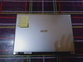 laptop acer v5 silver slim