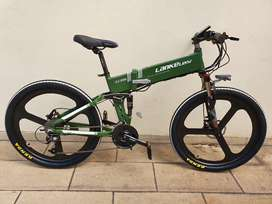 Lankeleisi XT750Elite sepeda lipat listrik MTB BARU