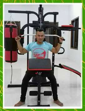 Home gym tiga sisi terbaru lengkap papan sit up+boxing_08.01