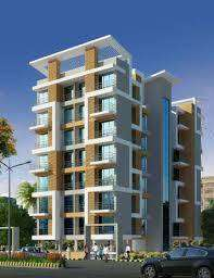 2Bhk+Terrace flat available for sale in Ulwe sector 8, G+7 building