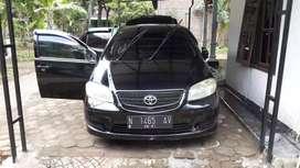Dijual Mobil Toyota Vios 2004 warna Hitam