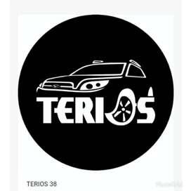 Sarung ban serep Terios Taft Feroza Touring Crv Escudo Taruna Rush dll