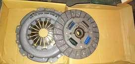 Clutch plate and pressure plate