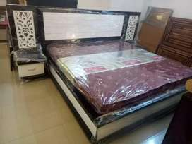 O emi Bajaj finance pay in installment double bed with storage