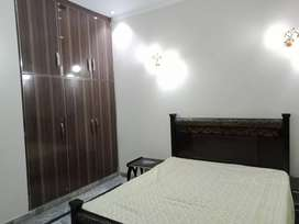 6.3 marla furnished portion 4 rentt in psiç near lums dha lahore