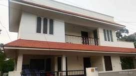 House for rent near Technopark at Manvila