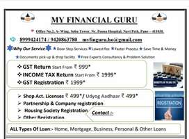 INCOME TAX RETURN GST RETURN SHOP ACT OTHER