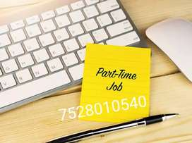 Online part time Job for home workers