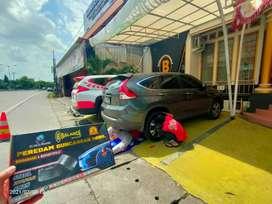Kondisi Jalan berlubang Mobil Tetap NYAMAN Karna Pakai BALANCE Damper