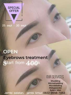 Treatment Sulam alis/Sulam bibir start from 400k