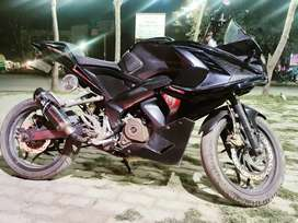 Pulsar RS-200 Tip top condition full modified (Rarely used 16300km)