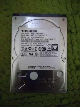 Harddisk Toshiba 500gb internal laptop