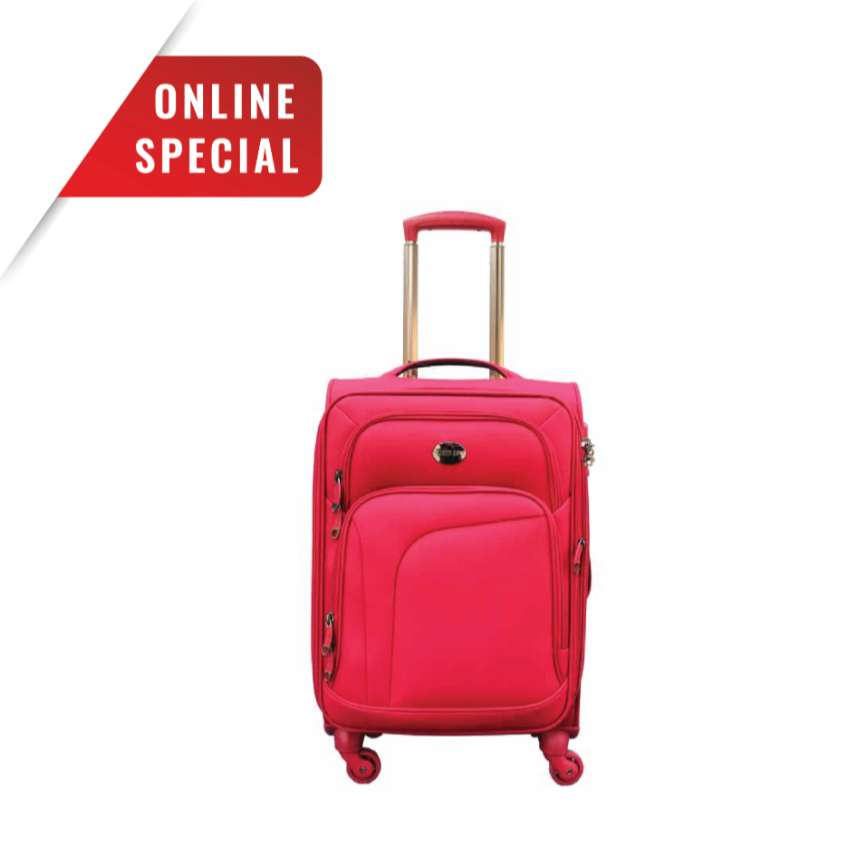 Swisspro Travel Suitcase Luggage Bag Sion Red 20 inch 0
