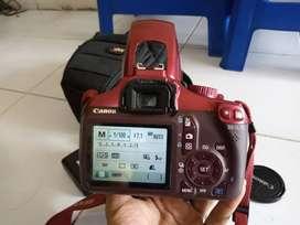 DSLR Canon 1100D Normal Bagus Nego