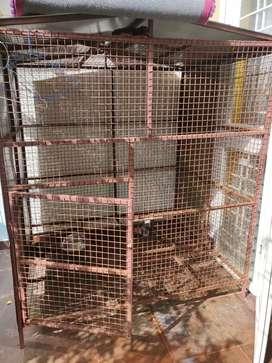 Dog Cage Big size 1.5x1.5x1.2 mtr