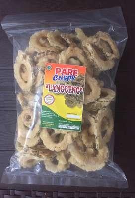 """Jamur dan Pare crispy """"Langgeng"""""""