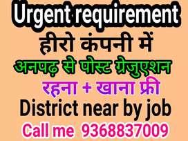 Apply full time job in hero company