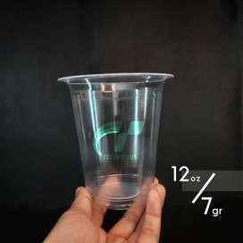 Cup plastik PP polos / sablon