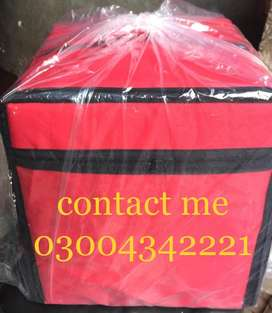 pizza , store and other usable delivery bags