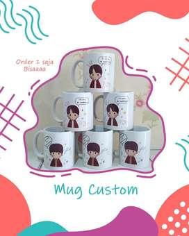 Mug Custom Standar + Desain