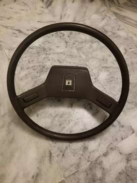1986 Corolla front grill and steering wheel..