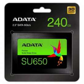 Adata SSD SU650 240GB SATA III ( R/W Up to 520 / 450MB/s )