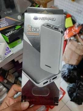 Powerbank Hippo stan 13200mAh dual usb output pb oke (Sinar Kita)