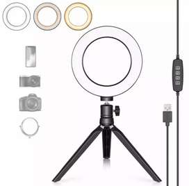 New Ring Light 8 inches with Small tripod