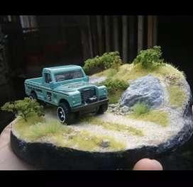 mini diorama diecast hotwheels matchbox vol 4