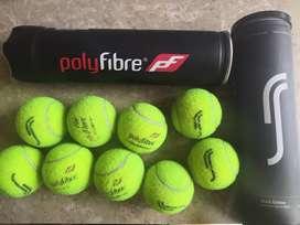 Tennis balls- branded Wilson RS Polyfibre