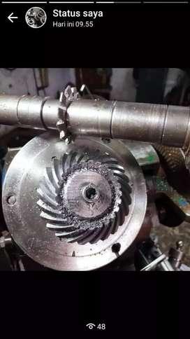 Pembuatan Roda Gigi Sesuai Pesanan