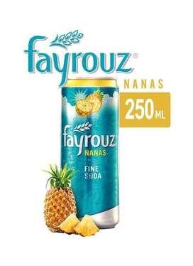 Fayrouz Pineapple/Nanas 250ml (1 karton)