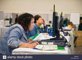 Online / Homebase Data entry Male & Females Staff required