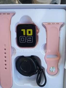 Smartwatch T55 Pink Rose Gold Original