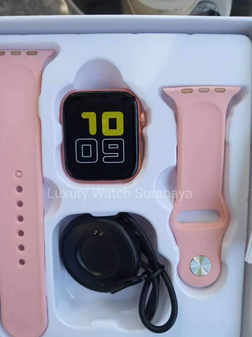 Smartwatch T5 Pink Rose Gold Original 0